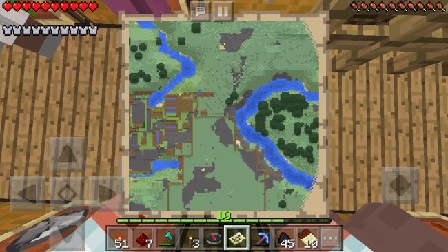 地図 の 位置 自分 マイクラ